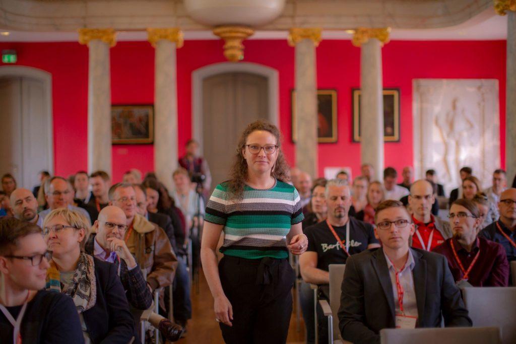 Sarah Weitnauer Speaker MV.digital, Fotographie: Karl Kratz